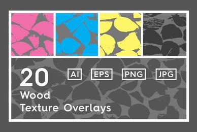 20 Wood Texture Overlays
