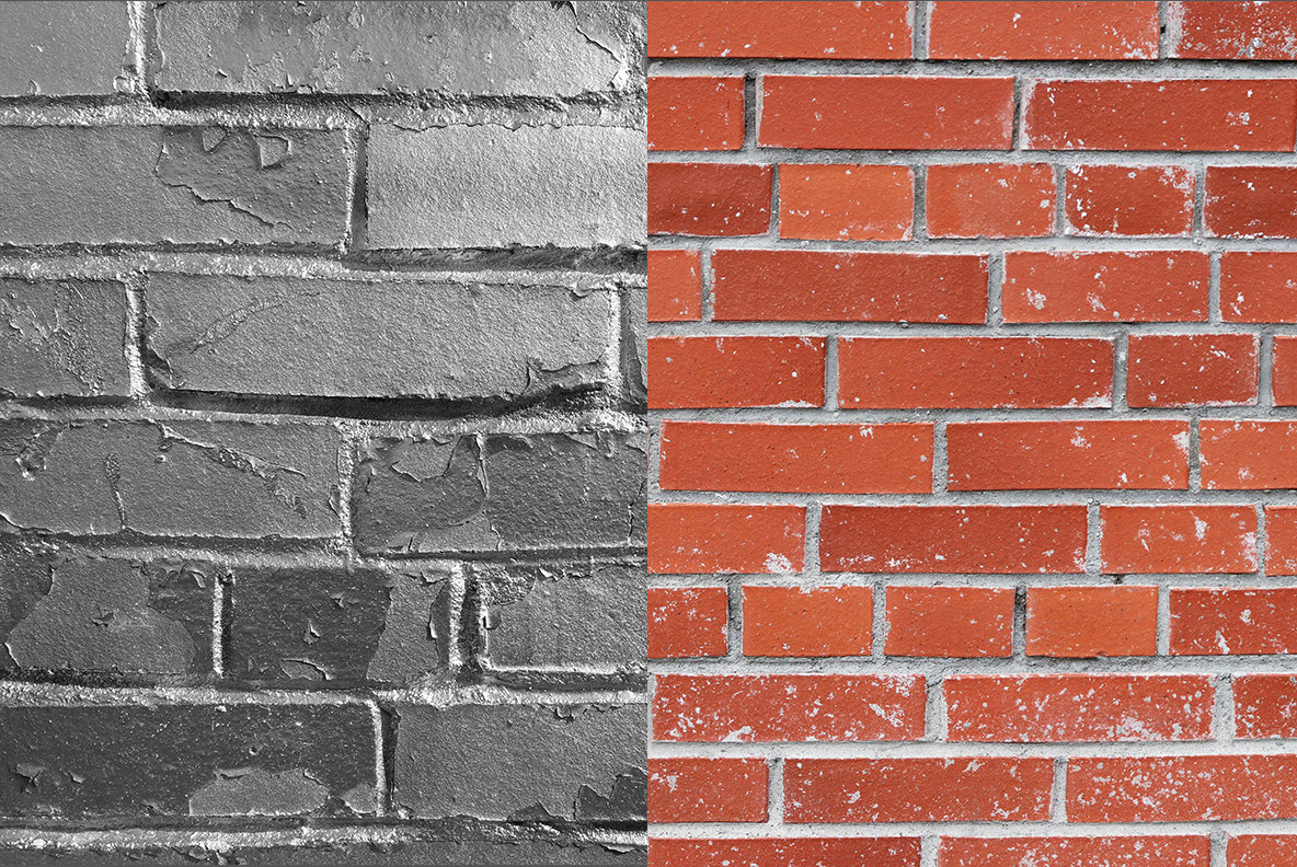 10 Bricks Wall Background Textures
