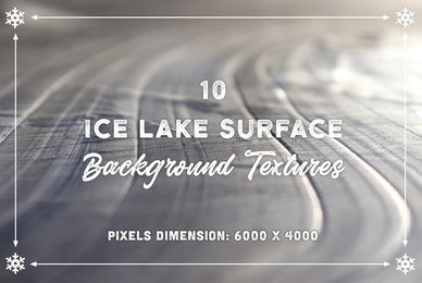 10 Ice Lake Surface Backgrounds