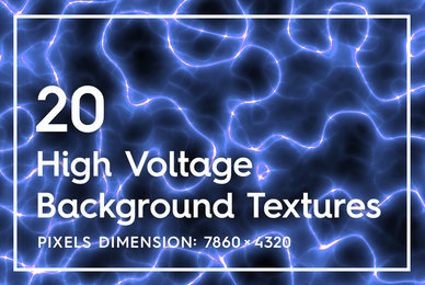20 High Voltage Background Textures
