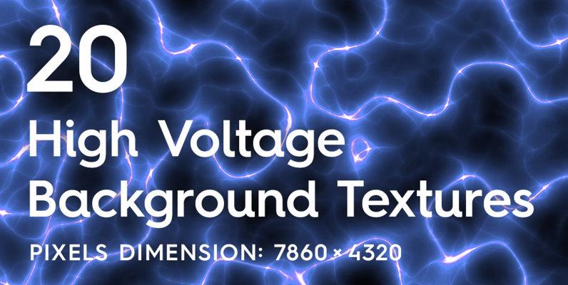 20 High Voltage Background Textures