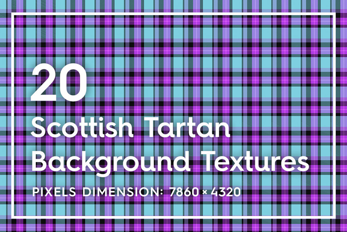 20 Scottish Tartan Backgrounds