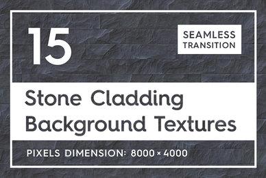 15 Seamless Stone Cladding Textures