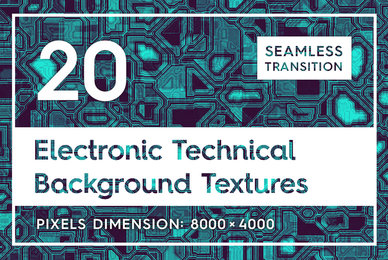 20 Electronic Technical Backgrounds