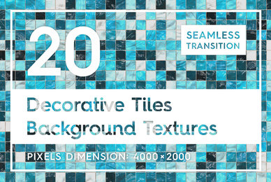 20 Decorative Tiles Background Textures