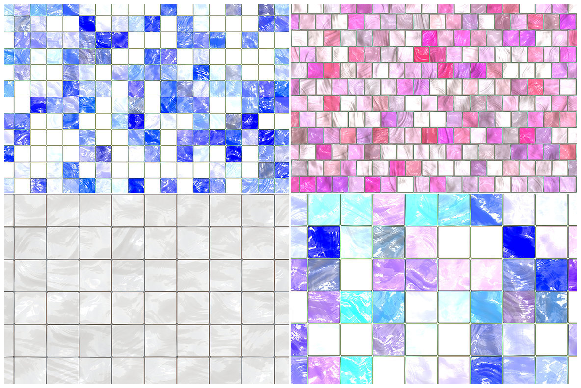 20 Decorative Tiles Background Textures