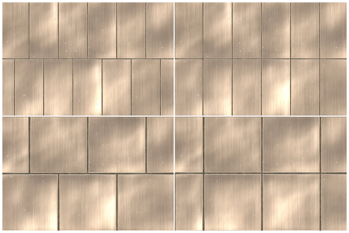 36 Metal Panel Tiles Background Textures