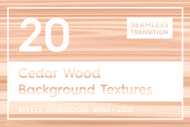 20 Cedar Wood Background Textures