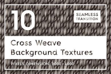 10 Cross Weave Background Textures