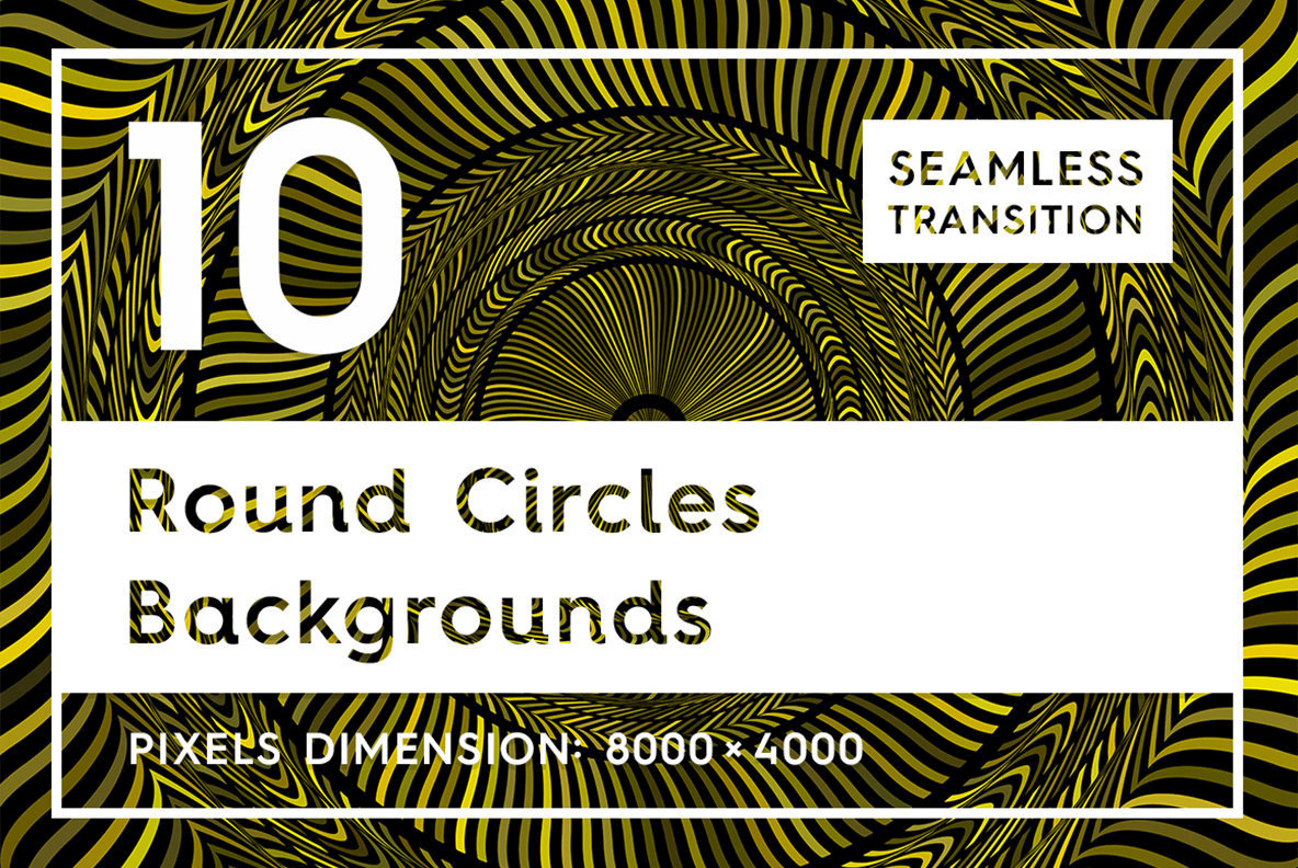 10 Round Circles Backgrounds