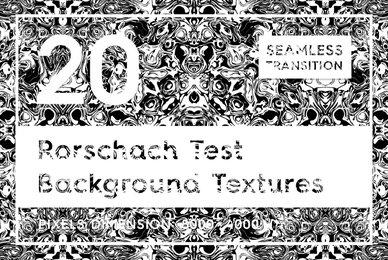 20 Rorschach Test Background Textures