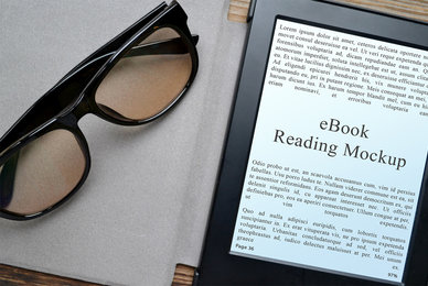 3 eBook Reading Mockups