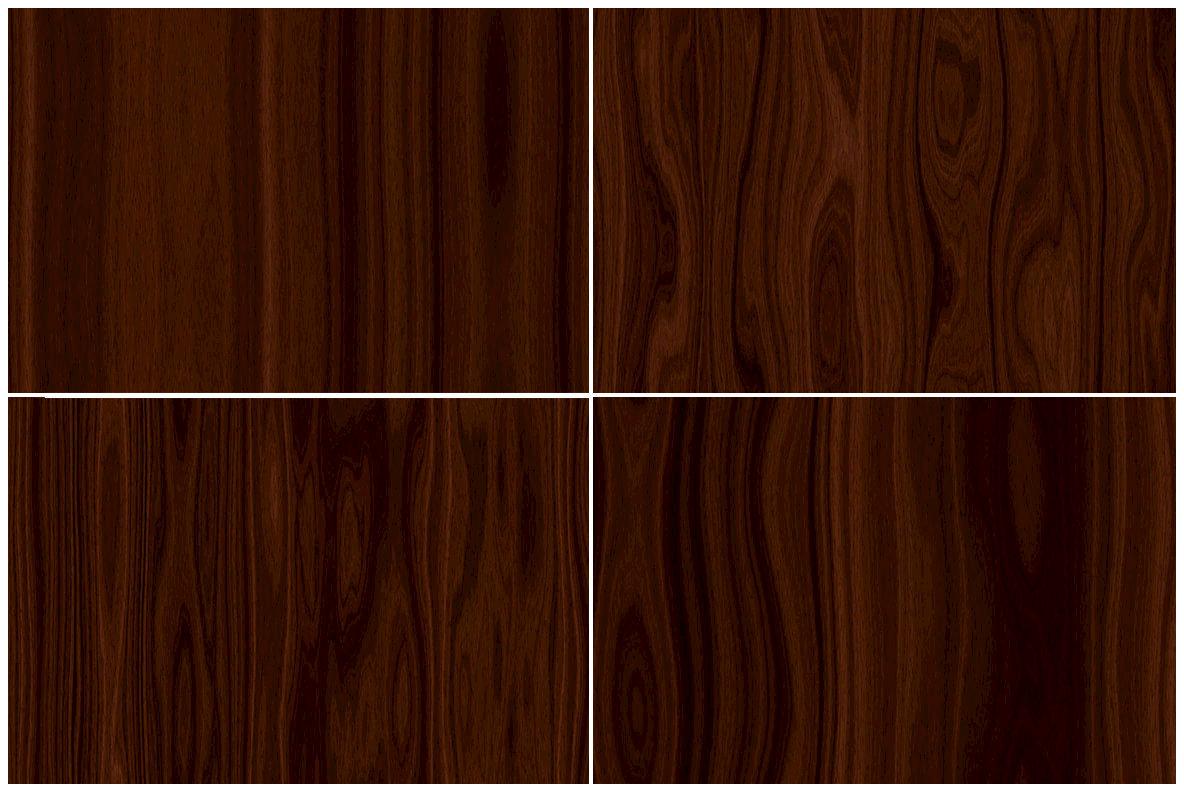 20 Dark Wood Background Textures