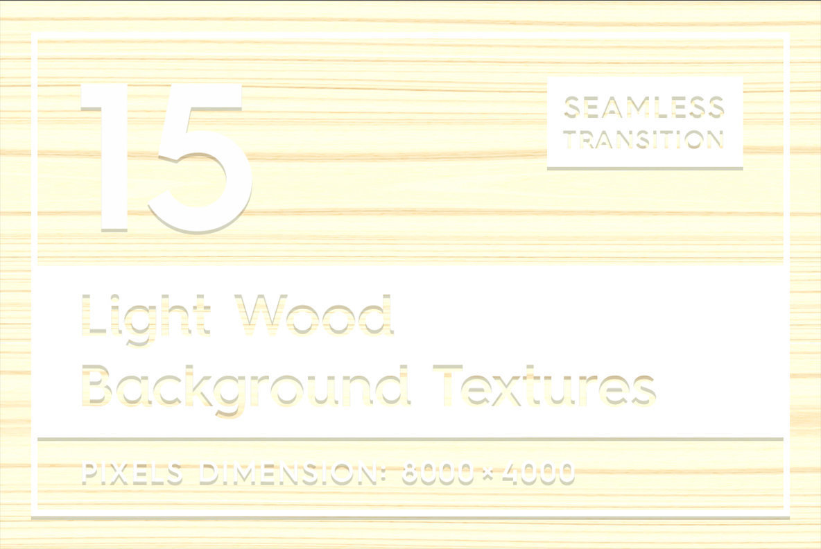 15 Light Wood Background Textures