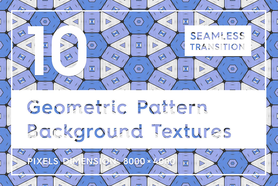 10 Geometric Pattern Background Textures
