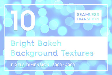 10 Bright Bokeh Background Textures