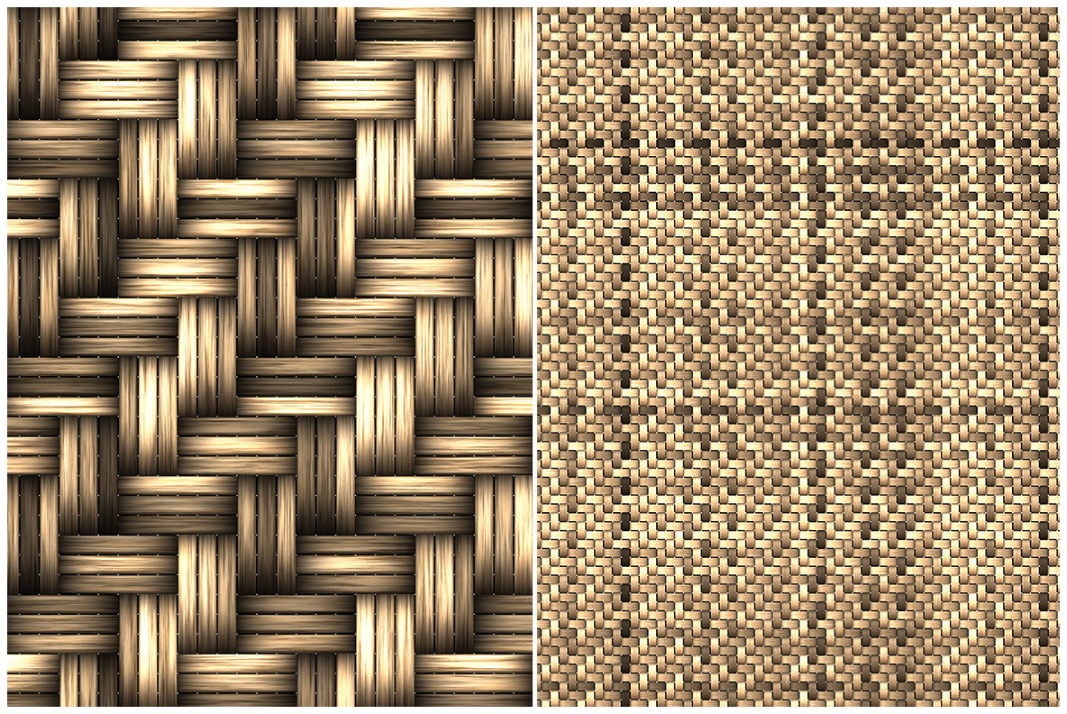 10 Basket Weaving Background Textures