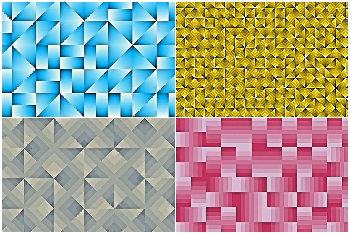 20 Geo Pattern Background Textures