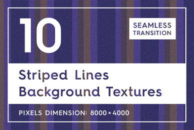 10 Striped Lines Background Textures