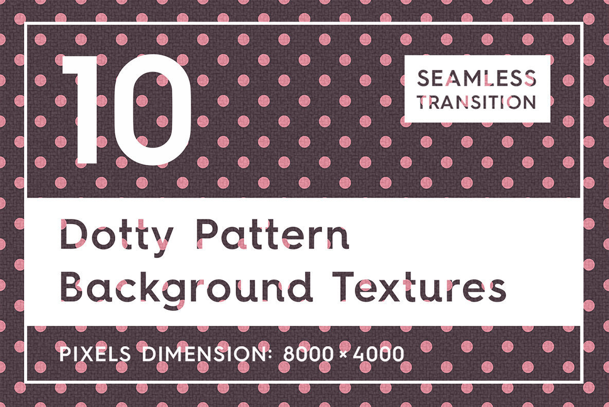 10 Dotty Pattern Background Textures