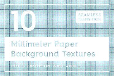 10 Millimeter Paper Textures