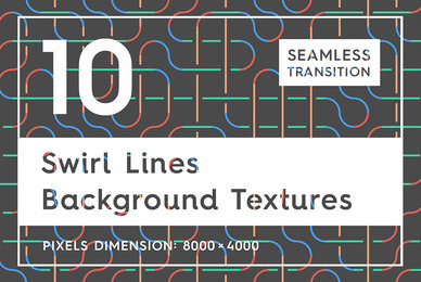 10 Swirl Lines Background Textures