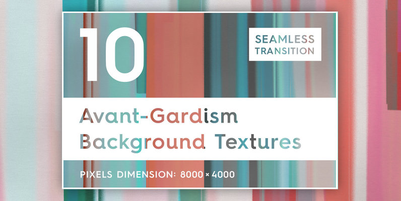 10 Avant Gardism Background Textures