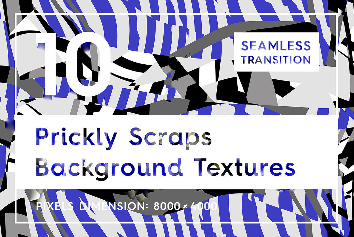 10 Prickly Scrap Background Textures