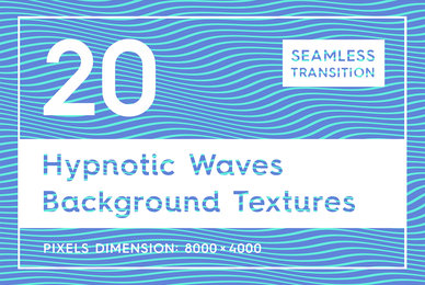20 Hypnotic Wave Backgrounds