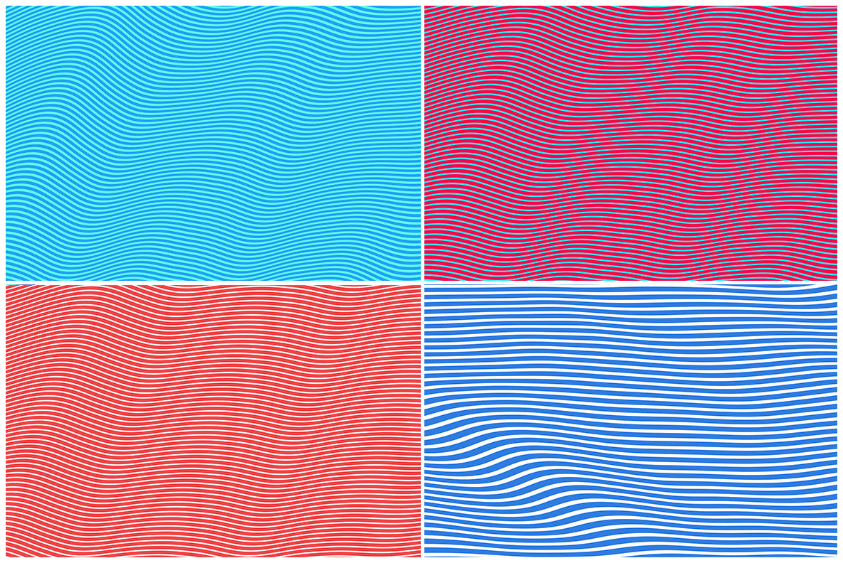 20 Hypnotic Wave Backgrounds