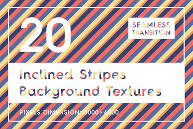 20 Inclined Stripes Backgrounds