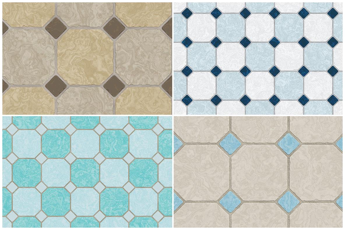 10 Classic Floor Tile Textures
