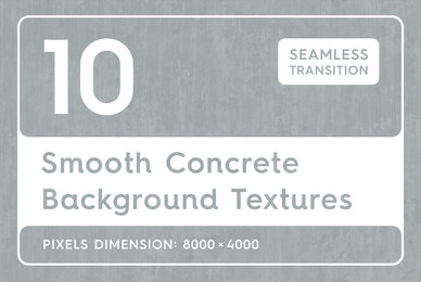 10 Smooth Concrete Background Textures