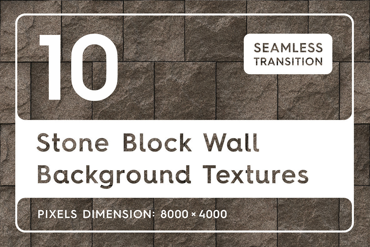 10 Stone Block Wall Textures