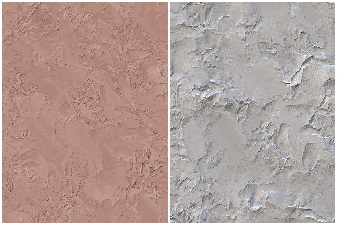 10 Rough Plastering Textures