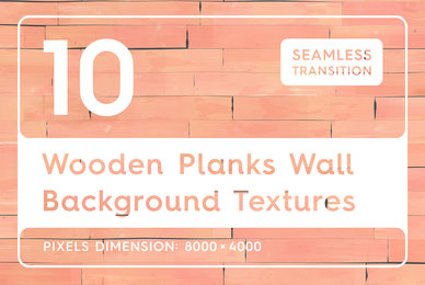 10 Wooden Planks Wall Backgrounds
