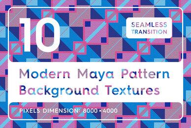 10 Modern Maya Patterns Textures