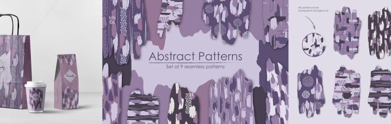 Abstract Patterns Set