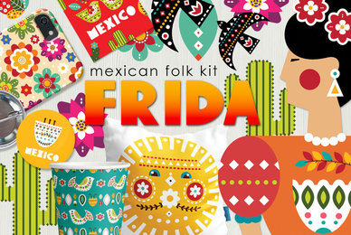Frida   Mexican Folk Art Kit