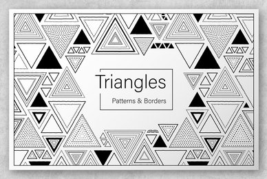 Triangles Patterns  Borders