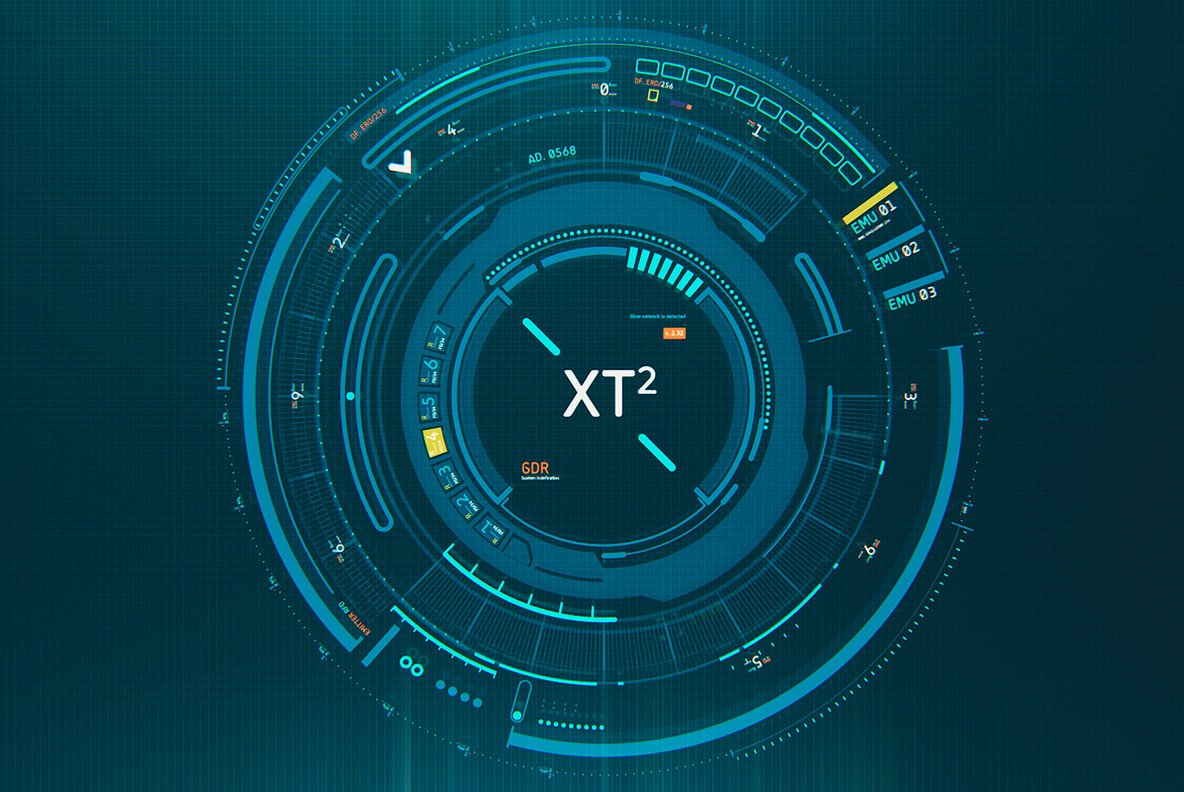 Futuristic HUD Interface UI XT2