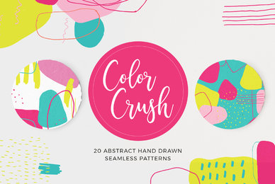 Color Crush Abstract Patterns