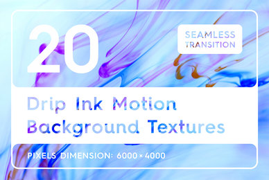 20 Drip Ink Background Textures