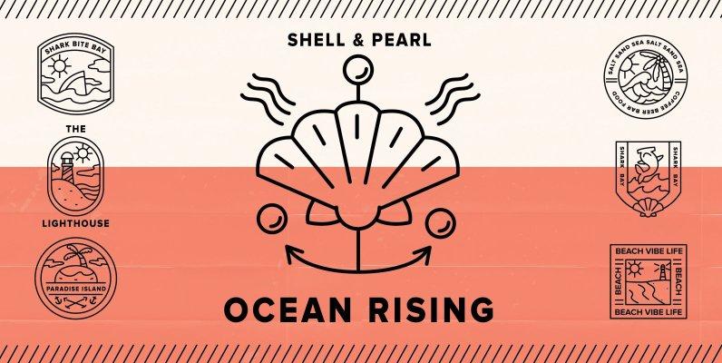 Ocean Rising (Logo Mockups)
