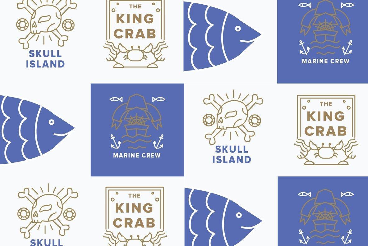 Ocean Rising  Logo Mockups