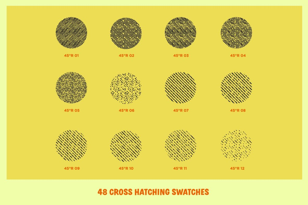Cross Country Cross Hatchers for Adobe Illustrator