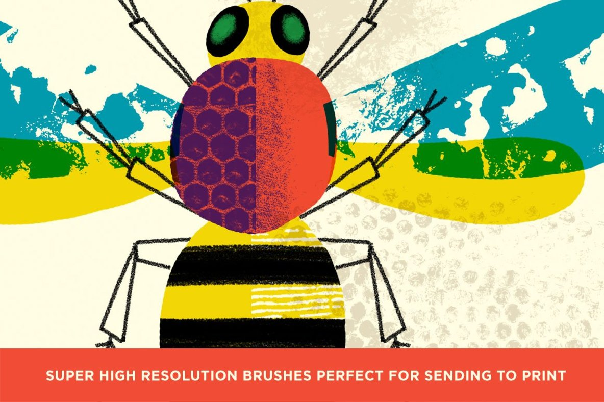 Bug Lab   Nature Texture Brushes for Photoshop
