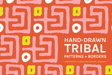 Hand Drawn Tribal