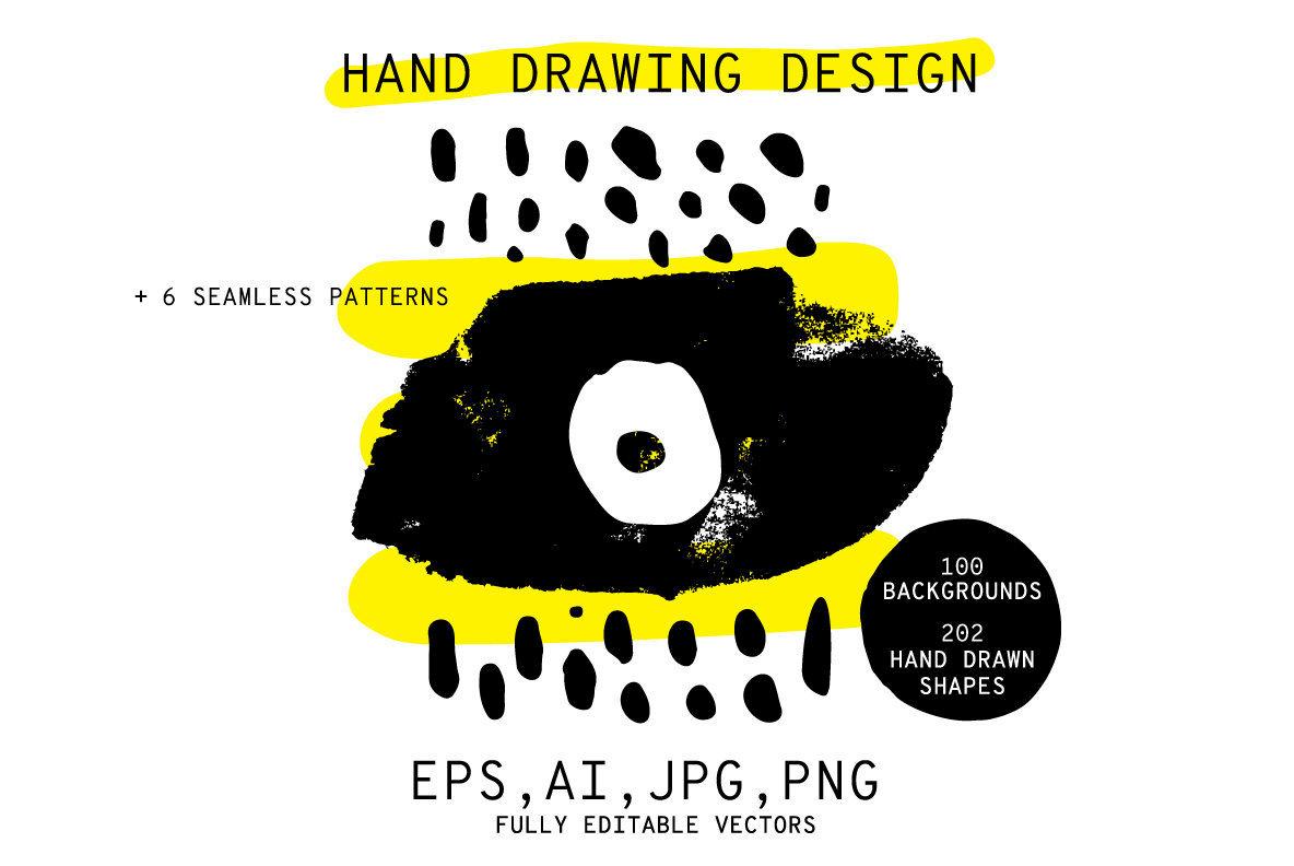 Hand Drawn Design 300 Plus