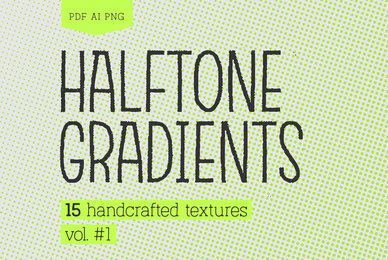 Halftone Gradients Vol 1